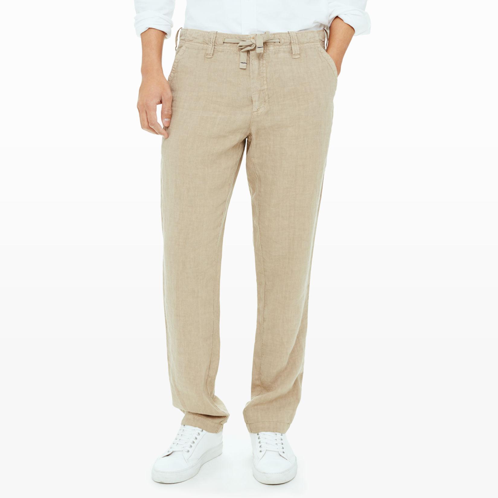Men | Casual | Hartford Relaxed Linen Pant | Club Monaco