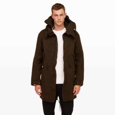 Men | Outerwear | Ten c Fishtail Parka | Club Monaco