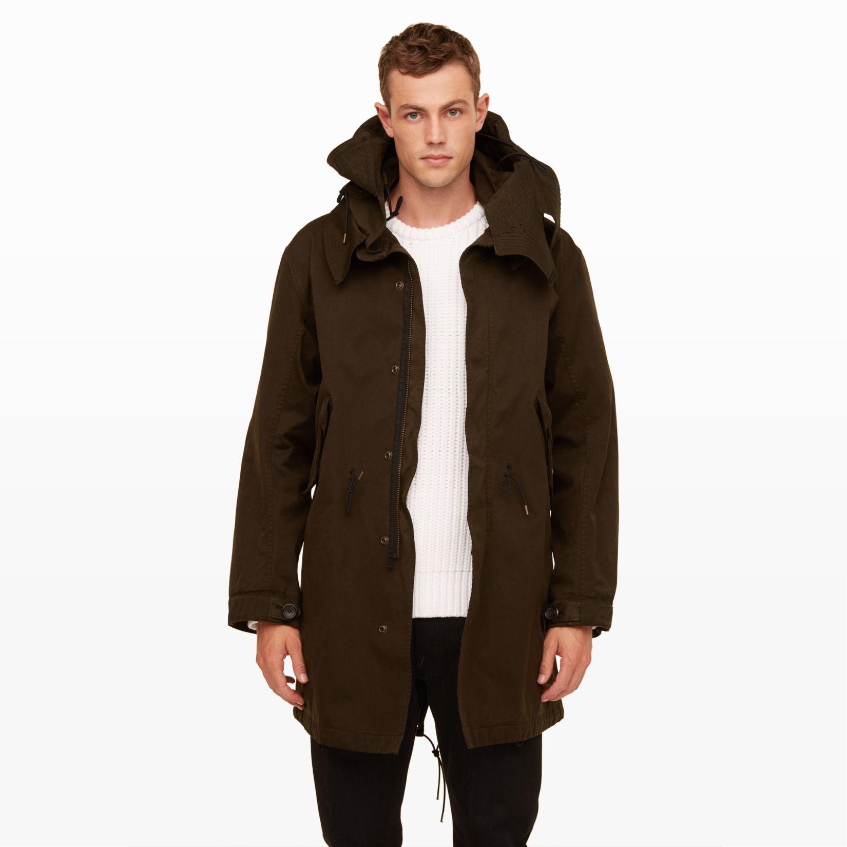 Men | Outerwear | Ten c Fishtail Parka | Club Monaco
