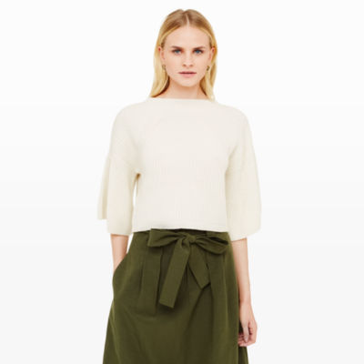 Women | Cashmere | Carolena Cashmere Sweater | Club Monaco