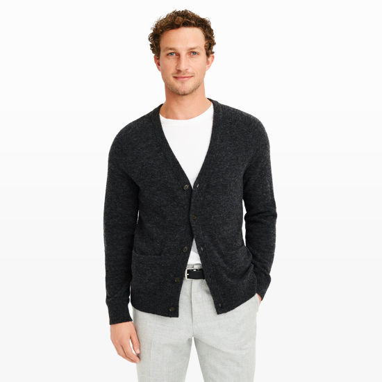 Men | Cardigans | Soft Wool Cardigan | Club Monaco