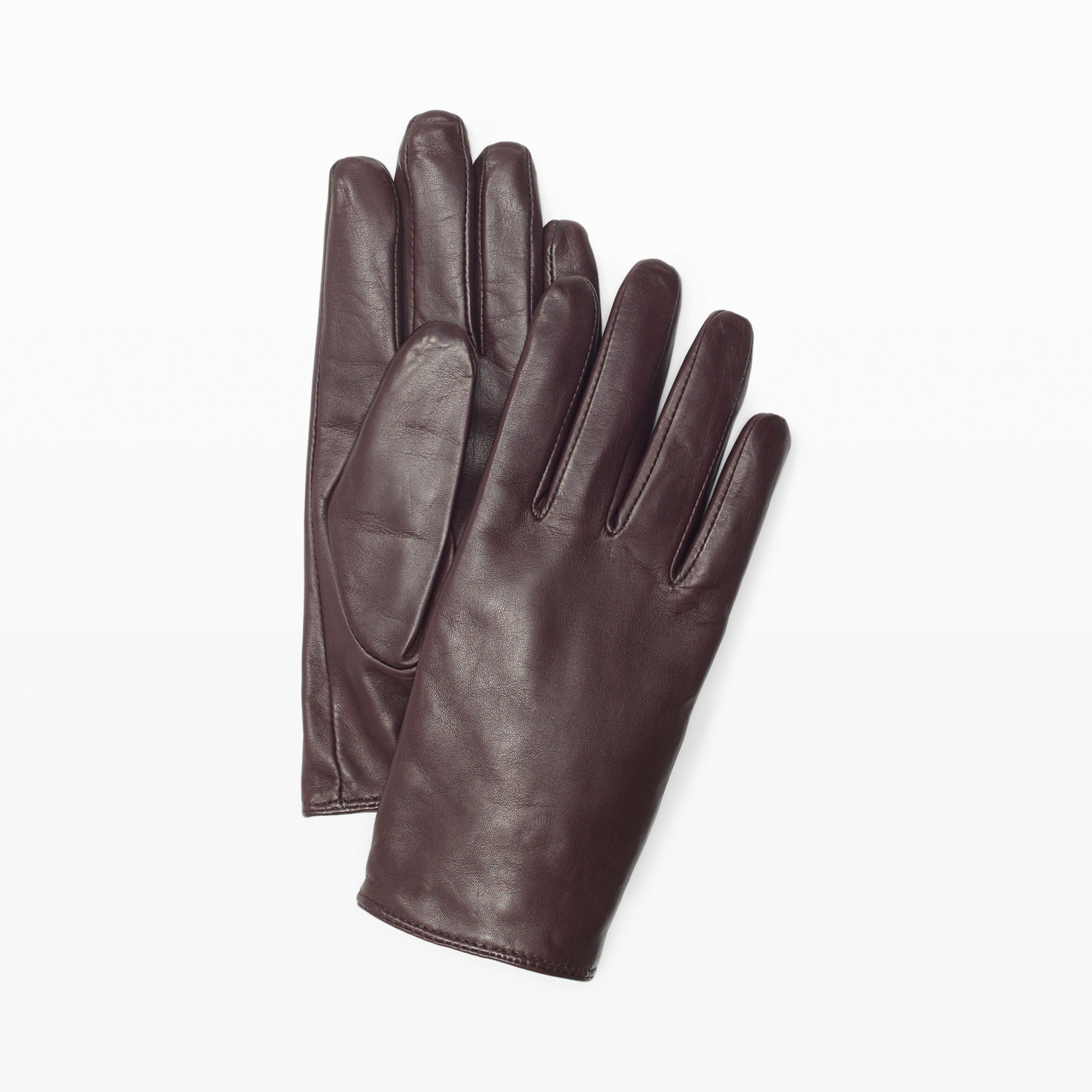 Blue leather gloves ladies uk - Women Claudia Leather Glove Club Monaco