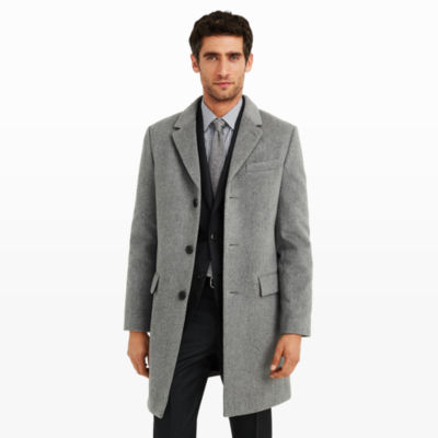 Men | Outerwear | Wool-Cashmere Topcoat | Club Monaco