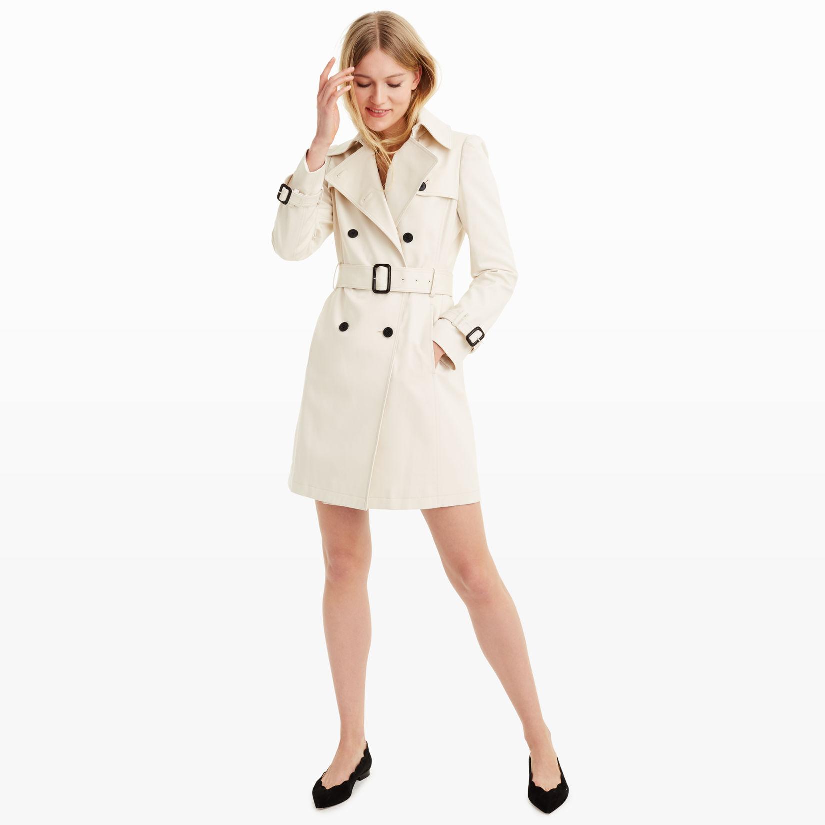 Womens | Coats and Trench Coats | Lamae Trench Coat | Club Monaco