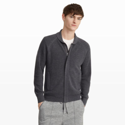 Men | Cardigans | Shawl Full Zip Sweater | Club Monaco