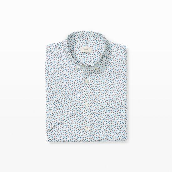 Mens | Print | Short-Sleeve Floral Shirt | Club Monaco