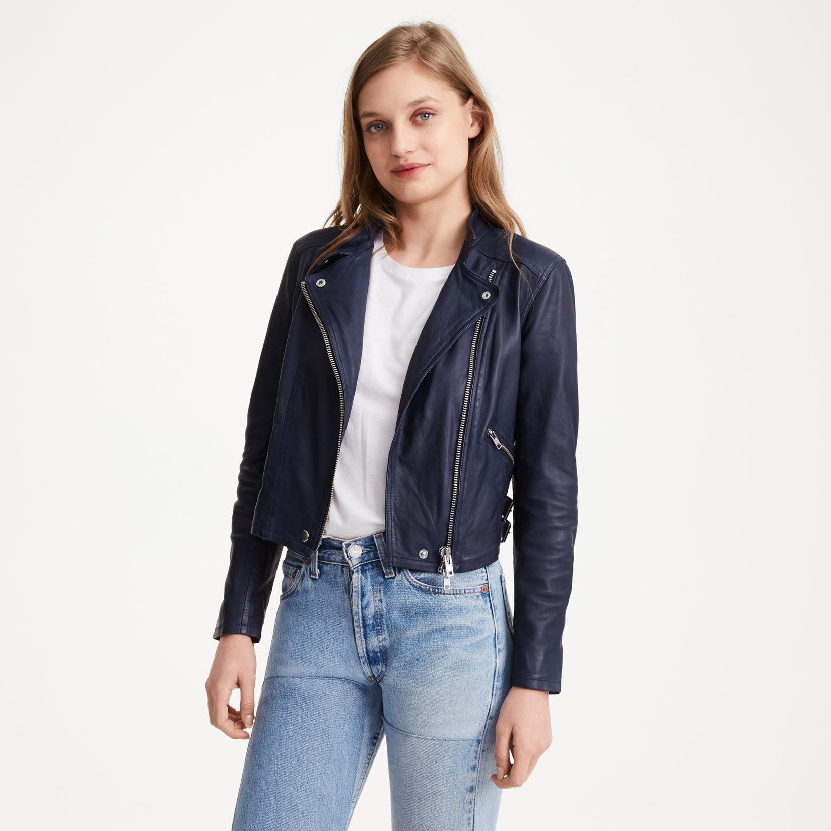 Leather jacket sale womens - Rowlen Jacket