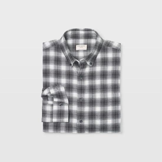 Men | Plaid | Slim Flannel Plaid Shirt | Club Monaco