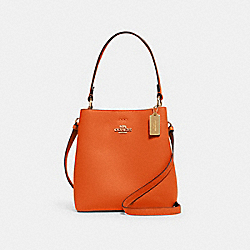 SMALL TOWN BUCKET BAG - IM/SEDONA REDWOOD - COACH 1011