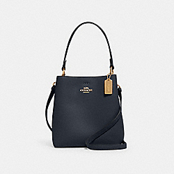 SMALL TOWN BUCKET BAG - IM/MIDNIGHT OXBLOOD - COACH 1011