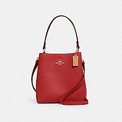 SMALL TOWN BUCKET BAG - IM/1941 RED/OXBLOOD - COACH 1011
