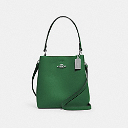 SMALL TOWN BUCKET BAG - SV/SHAMROCK MIDNIGHT - COACH 1011