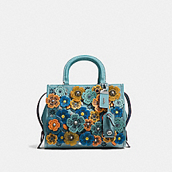 ROGUE 25 WITH GLITTER TEA ROSE - LH/STEEL BLUE - COACH 10512