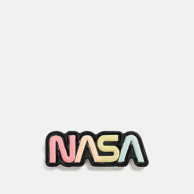 NASA LEATHER PIN