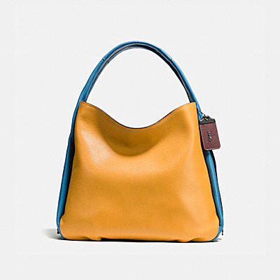 BANDIT HOBO IN COLORBLOCK LEATHER