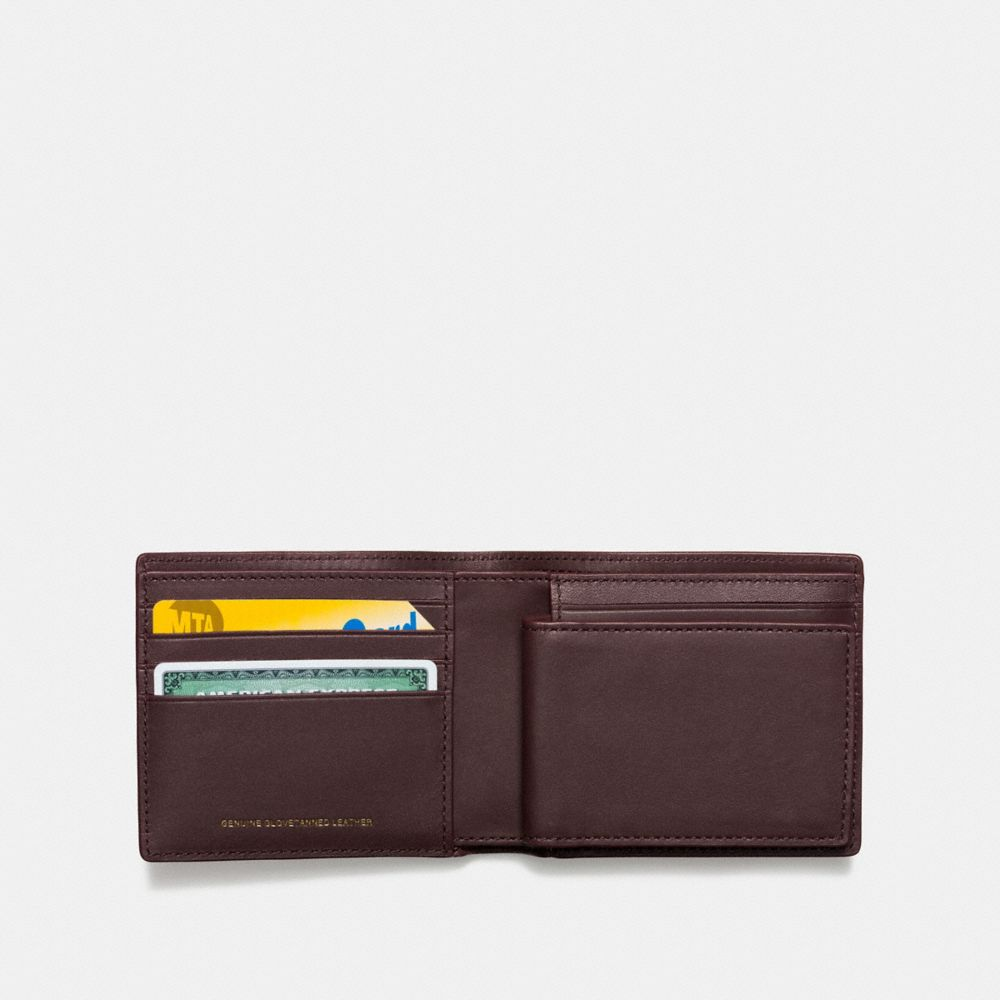 3-IN-1 WALLET IN GLOVETANNED LEATHER WITH REXY - Alternate View
