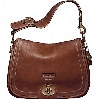 Coach Official Site - COACH LEGACY LEATHER SHOULDER FLAP
