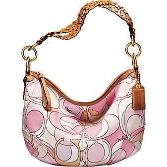 Coach Official Site - COACH SOHO MULTI PRINT HOBO :  multi print original chic woman