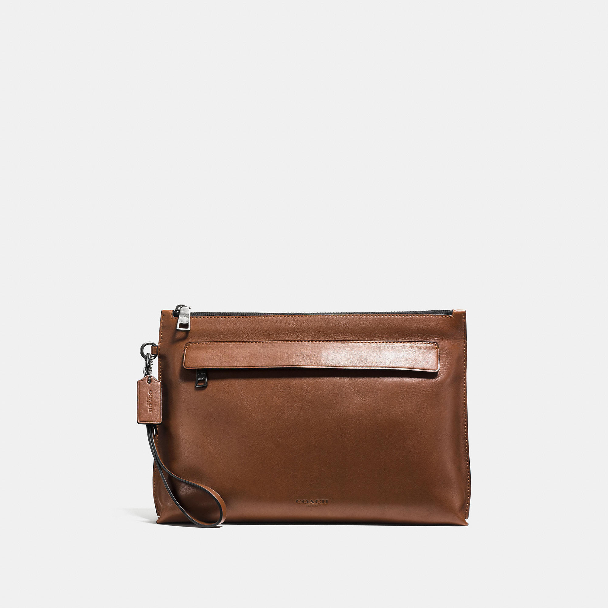 Coach Pouch In Sport Calf Leather