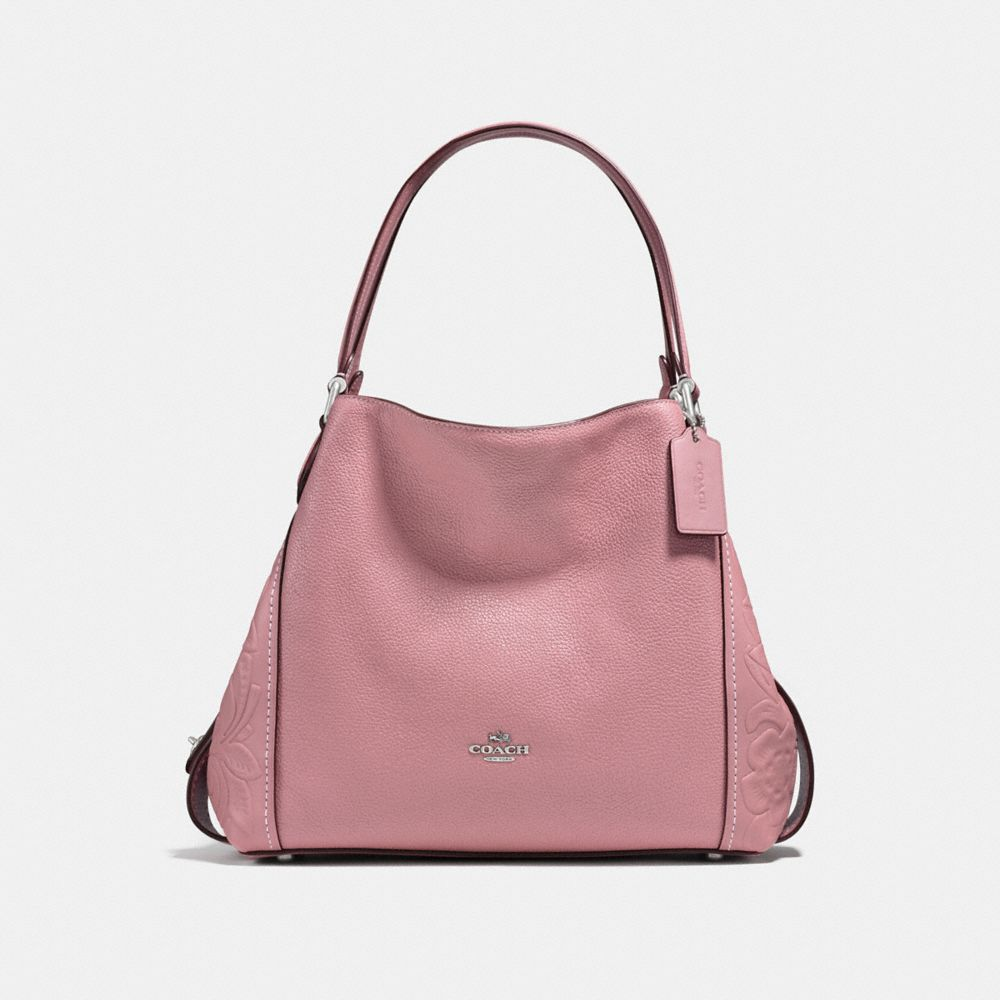 EDIE SHOULDER BAG 31 WITH TEA ROSE TOOLING