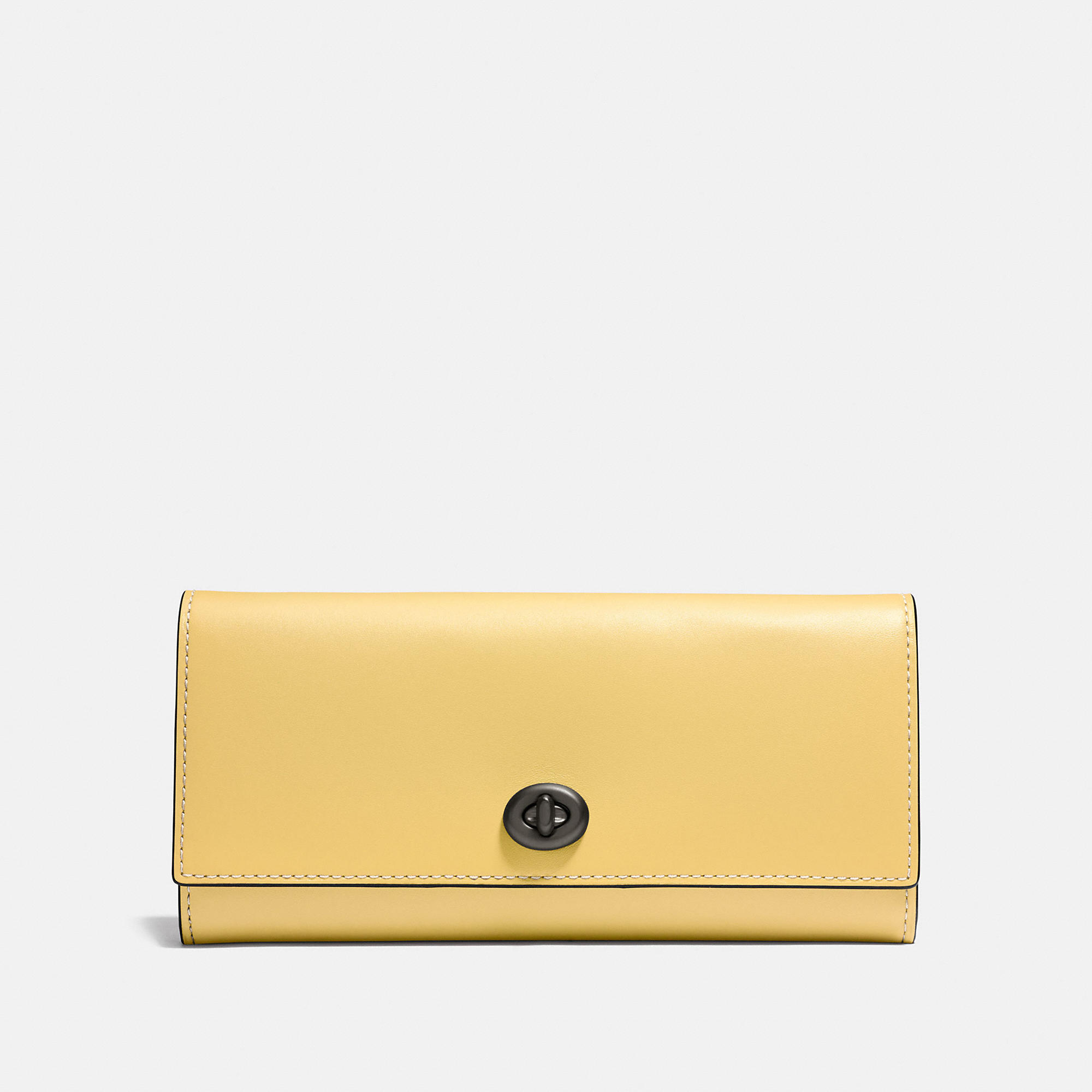Coach Envelope Wallet In Glovetanned Leather