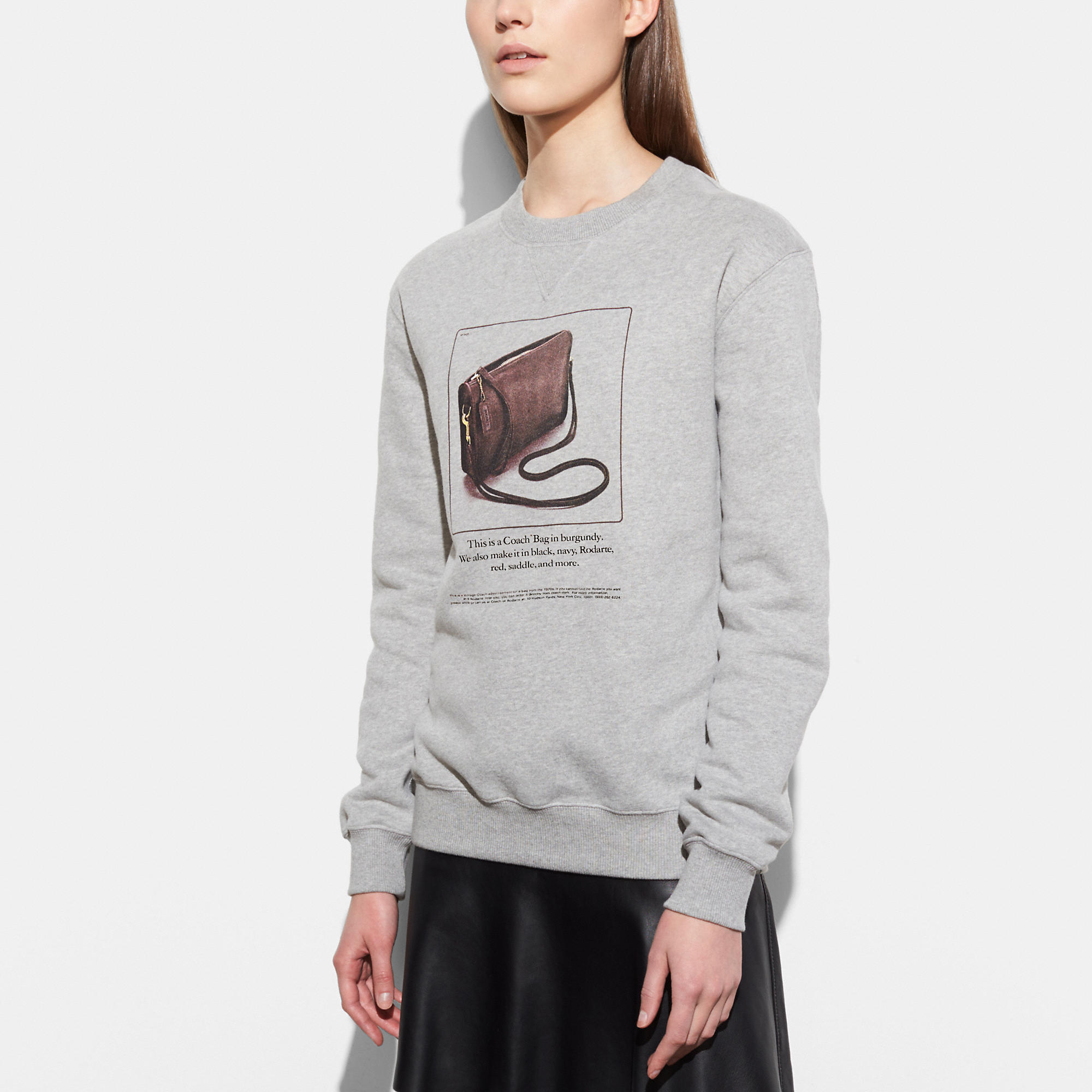 Coach Sweatshirt With Archive Print