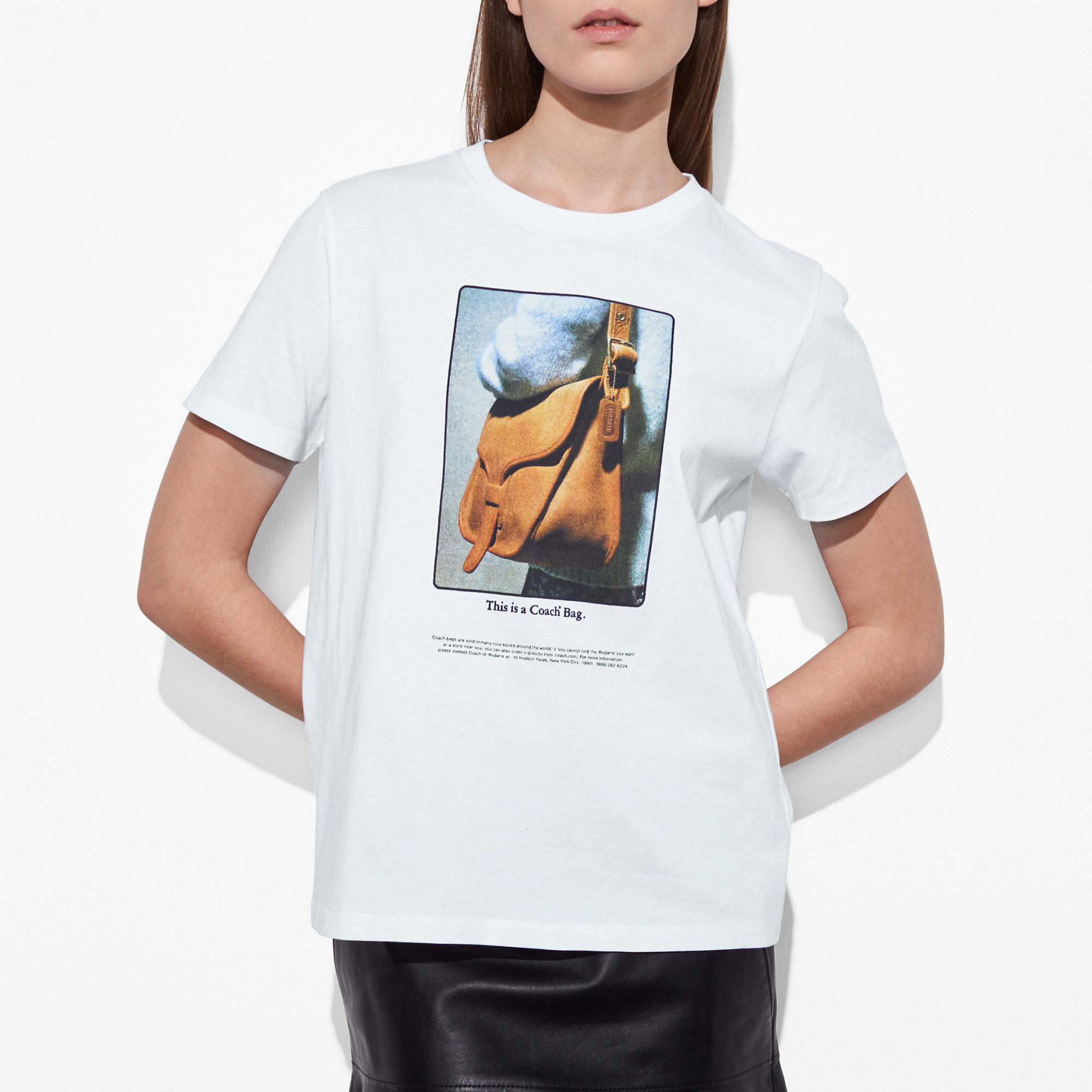 Coach T-shirt With Archive Print