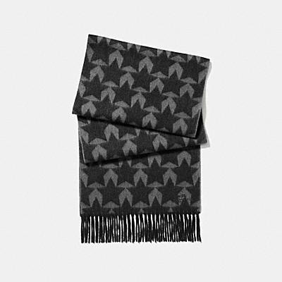 星星圖案圍巾