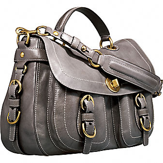 Coach Official Site - COACH LEGACY LEATHER TOP HANDLE :  pouches dress bag wear