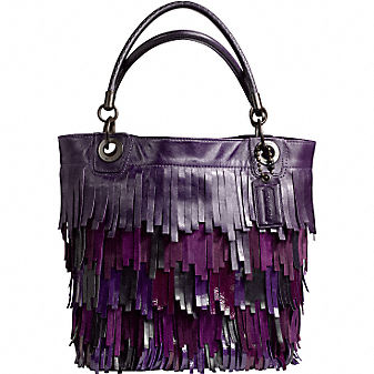 Coach Official Site - MADISON FRINGE TOTE :  shoes site official leather goods