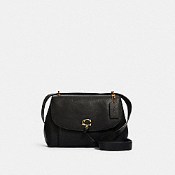 REMI SHOULDER BAG - IM/BLACK - COACH 1319