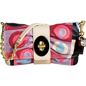 Coach RESORT CLUTCH :  party clutch handbag resort leather
