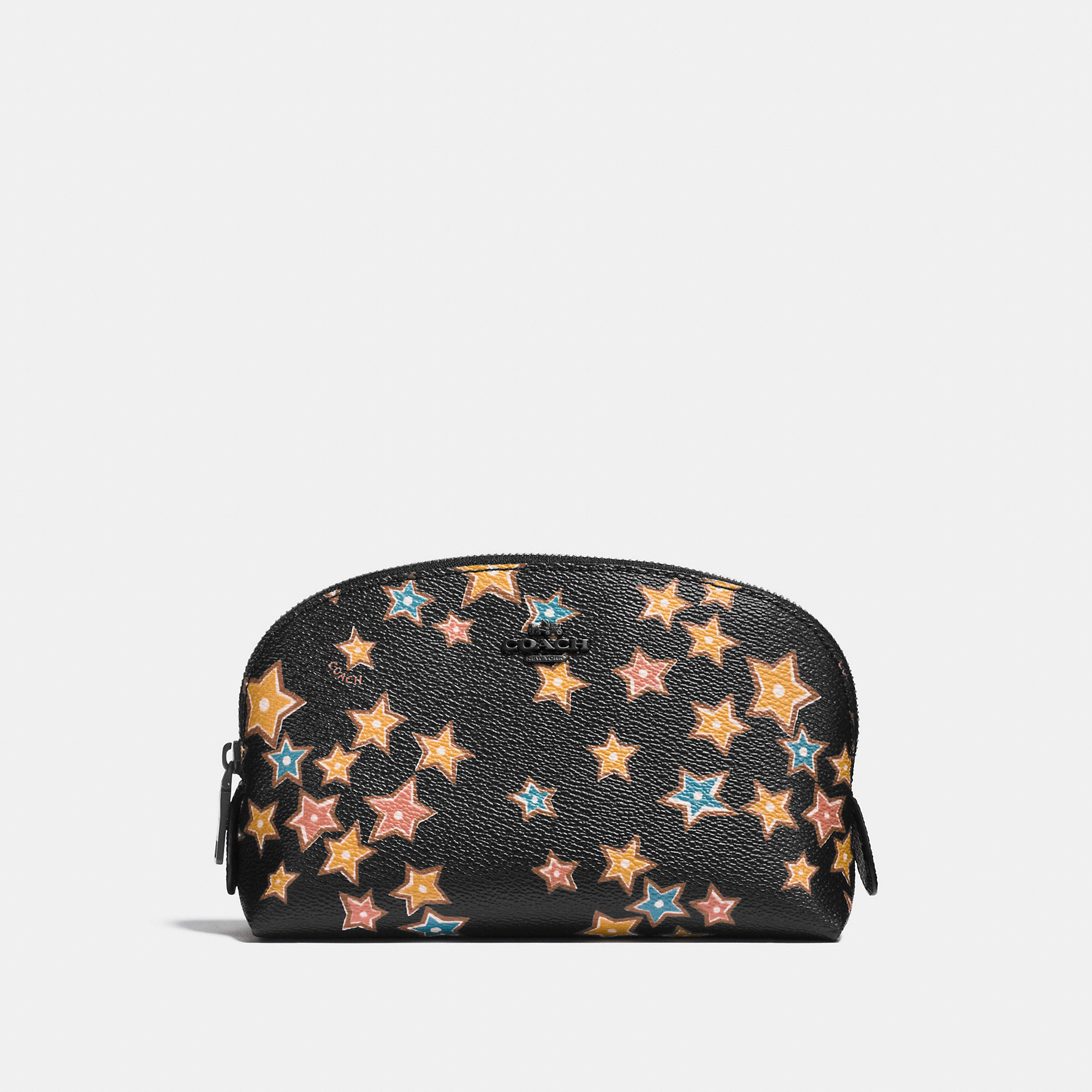 Coach Cosmetic Case 17 In Starlight Print Coated Canvas