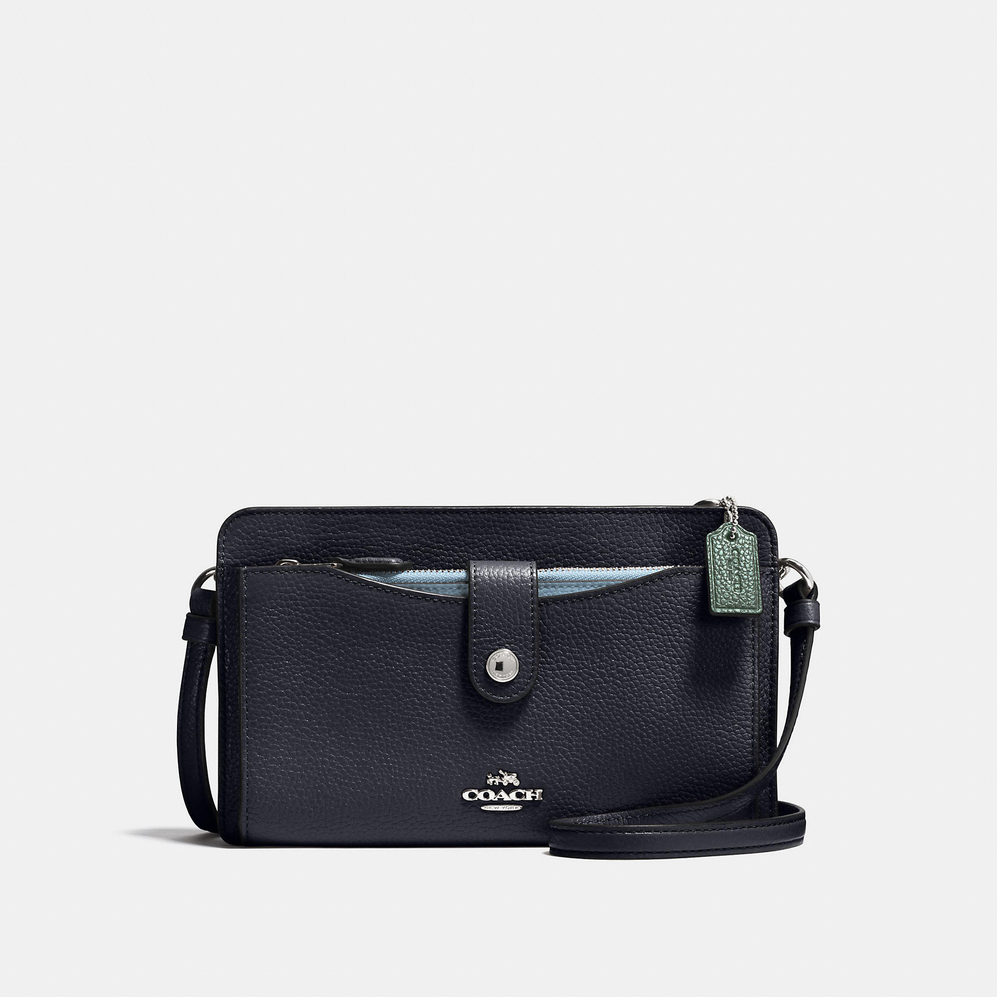 Coach Pop-up Messenger In Colorblock Leather