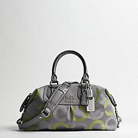 Coach :: Satchels :  op art sateen multi satchel coach shoes
