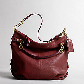 BCRF Leather Brooke Tote