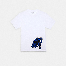 COACH │ MARVEL BLACK PANTHER T-SHIRT - WHITE - COACH 1445