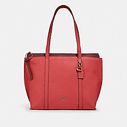 MAY TOTE - IM/BRIGHT CORAL - COACH 1573