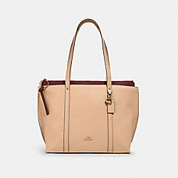 MAY TOTE - IM/TAUPE - COACH 1573