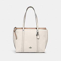 MAY TOTE - SV/CHALK - COACH 1573