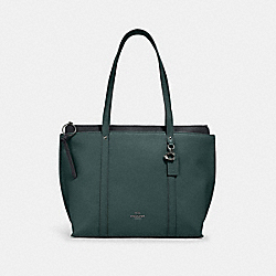MAY TOTE - SV/DARK TURQUOISE - COACH 1573