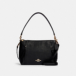 SMALL MARLON SHOULDER BAG - IM/BLACK - COACH 1597