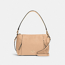 SMALL MARLON SHOULDER BAG - IM/TAUPE - COACH 1597