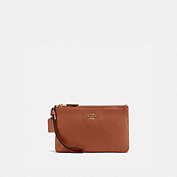 BOXED SMALL WRISTLET - GD/1941 SADDLE - COACH 16111B
