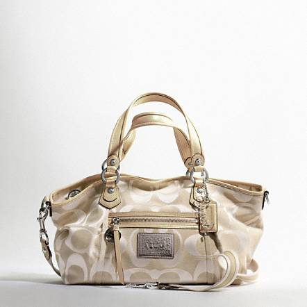 POPPY METALLIC SIGNATURE SATEEN ROCKER