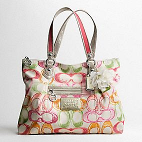 Poppy Dream C Glam Tote
