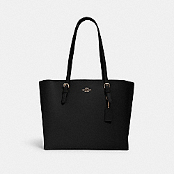 MOLLIE TOTE - IM/BLACK TRUE RED - COACH 1671