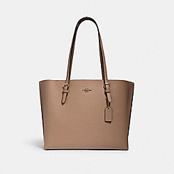 MOLLIE TOTE - IM/TAUPE OXBLOOD - COACH 1671