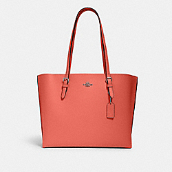 MOLLIE TOTE - SV/TANGERINE TAUPE - COACH 1671