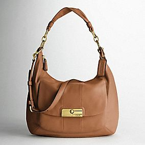 KRISTIN LEATHER LARGE HOBO